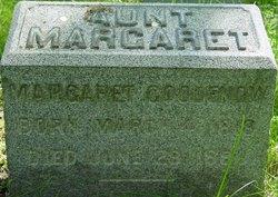 Margaret <I>McGrath</I> Goodenow