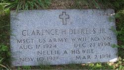 Clarence H Defrees, Jr