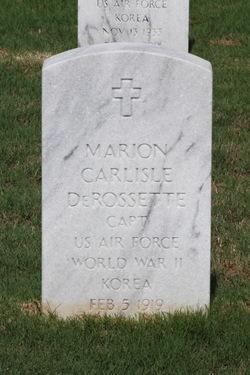 Marion Carlisle Derossette
