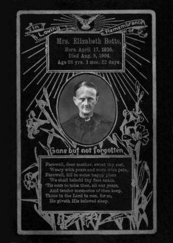 Elizabeth <I>Wells</I> Botts