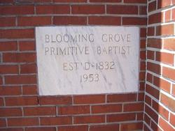 Blooming Grove Primitive Baptist Cemetery
