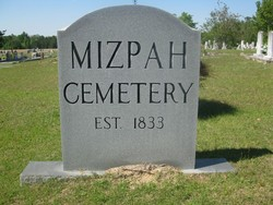 Mizpah Primitive Baptist Church Cemetery