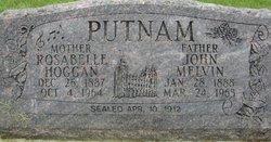 Rosabelle <I>Hoggan</I> Putnam