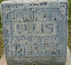 Blaine Allan Ellis