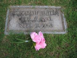 Mrs Elizabeth Farmer <I>Brown</I> Butler
