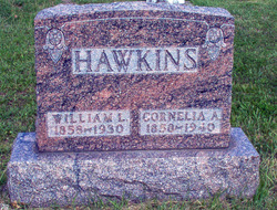 Cornelia Amy <I>McComb</I> Hawkins