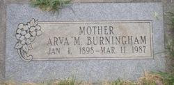 Arva Myrtle <I>McNeil</I> Burningham