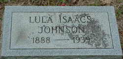 Lula <I>Isaacs</I> Johnson