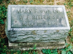 Mary Frances <I>Elwell</I> Bitler