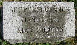 George B Cannon