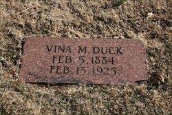 "Alvina Mabel ""Vina"" <I>Bick</I> Duck"