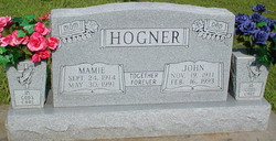 Mamie <I>Livingston</I> Hogner