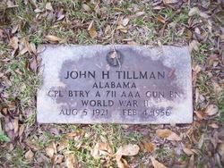 John Harvey Tillman