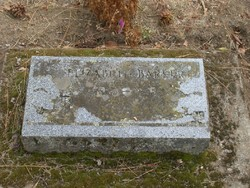 Elizabeth <I>Knowlton</I> Barker