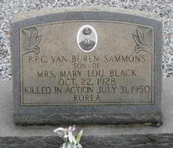 PFC Van Buren Sammons