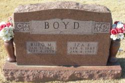 Iza Edith <I>Chaney</I> Boyd