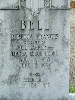 Rebecca Frances <I>Hobbs</I> Bell