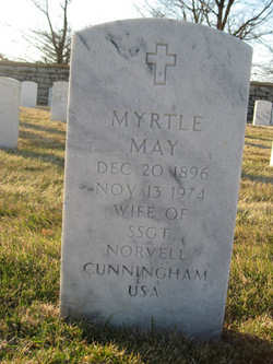 Myrtle May Cunningham