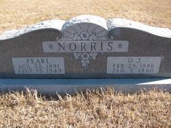 Edna Pearl <I>Robbins</I> Norris