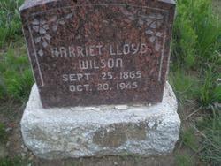 Harriet Price <I>Lloyd</I> Wilson