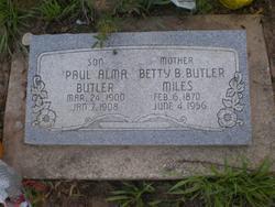 Betty <I>Bulow</I> Butler/Miles