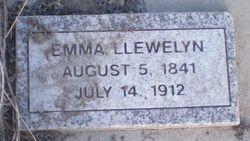 Emma <I>Bateman</I> Llewelyn