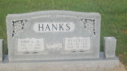 Beatrice <I>Brooks</I> Hanks