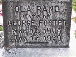 Ola <I>Rand</I> Foster