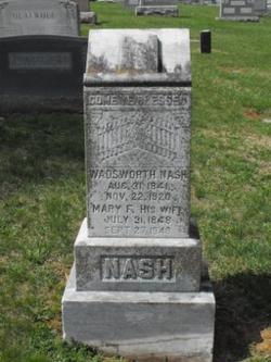 "Pvt Wadsworth H. ""Wads"" Nash"