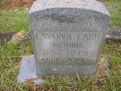 Lavona <I>Earp</I> Morris