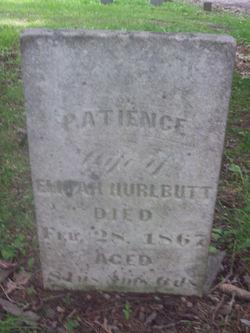 Patience <I>Carpenter</I> Hurlbutt