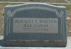 Beaulah F. <I>Fowler</I> Britton