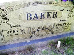 Violet J. <I>Viney</I> Baker