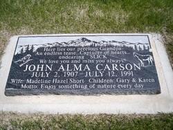 John Alma Carson