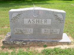 Margaret E. <I>Walker</I> Asher