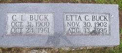 Etta C <I>Atterberry</I> Buck