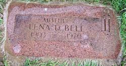 Lena Drucilla <I>Finchum</I> Bell