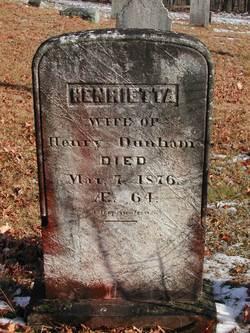 Henrietta <I>Tucker</I> Dunham