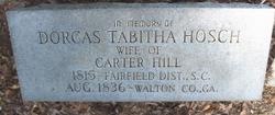 Dorcas Tabitha <I>Hosch</I> Hill