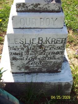 Leslie B Kreh