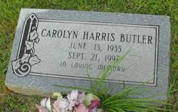 Carolyn <I>Harris</I> Butler