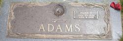 "Alan Dorius ""Alma"" Adams"