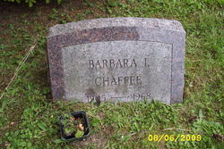 Barbara I. Chaffee