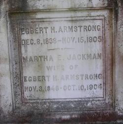 Martha E. <I>Jackman</I> Armstrong