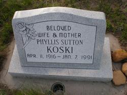 Phyllis <I>Sutton</I> Koski