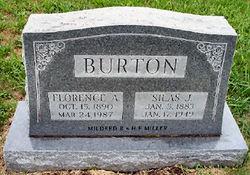 Florence A <I>Farrell</I> Burton