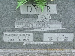 Marjorie B. <I>Hewitt</I> Dyer