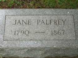 Jane <I>Jones</I> Palfrey