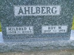 Mildred <I>Johnson</I> Ahlberg