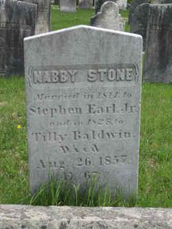 Nabby <I>Stone</I> Baldwin